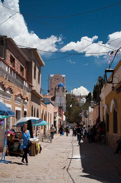 Calle de Humahuaca, Jujuy, Argentina.