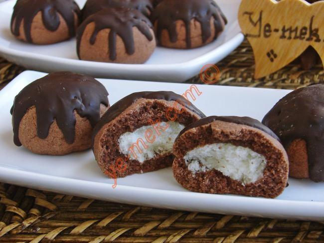 Cocostar Kurabiye Tarifi (Resimli Anlatım) | Kolay ve Pratik Resimli Yemek Tarifleri | Göbeğim