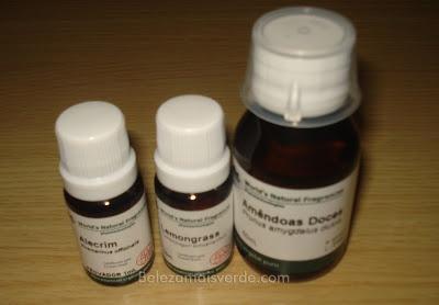 Iniciando na Aromaterapia.  ;)