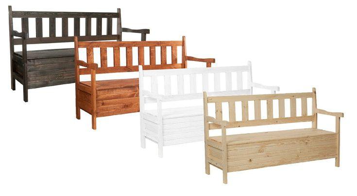 11 besten gartenbank mit truhe bilder auf pinterest. Black Bedroom Furniture Sets. Home Design Ideas
