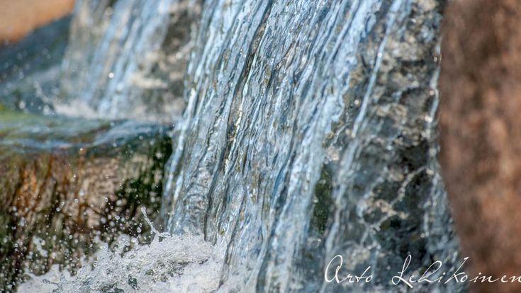 Waterfall - Vesiputous by Pauliina Kuikka and Arto Lehikoinen Photography