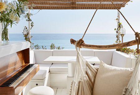 A luxury Italian coastal cabin designed by Humbert & Poyet