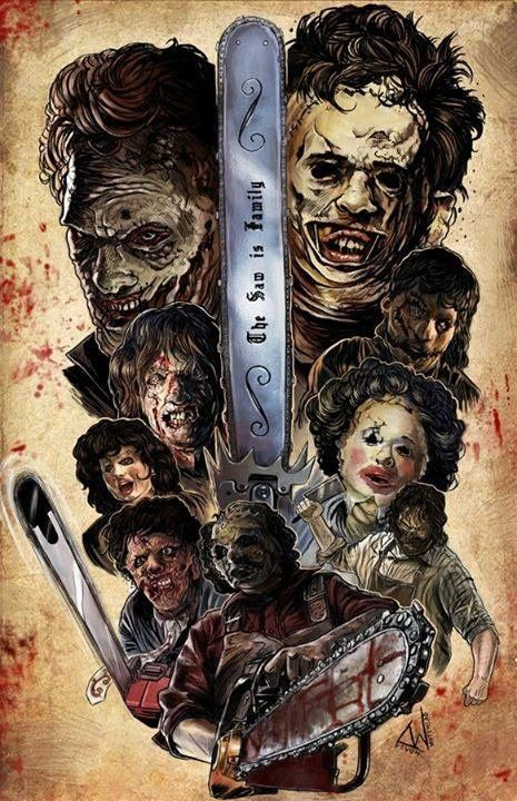 The most badass Texas Chainsaw Massacre art I have ever seen