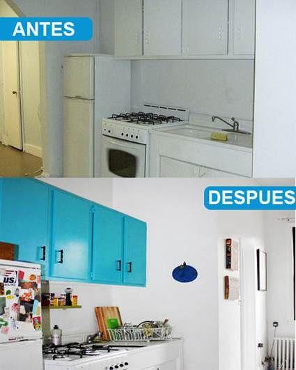 Pinterest - Pintar azulejos cocina antes y despues ...
