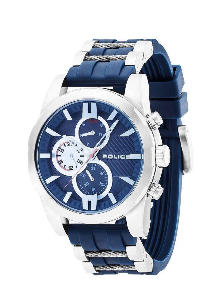 New Police Men Watch MATCHCORD PL14541JS03P, 2016 Collection #Police #Sport