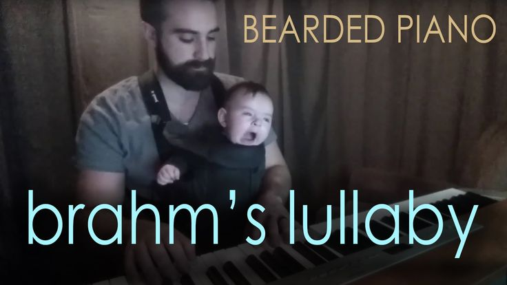 Brahms Lullaby has always been a favorite of mine. So when last night baby Sam was having a difficult time sleeping due to an ear ache, I thought I'd take an...