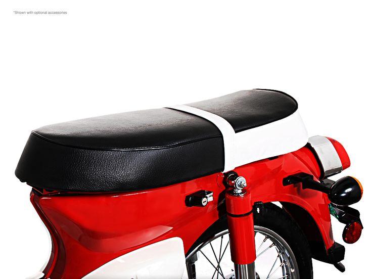 Sym Symba 100 With Bench Seat Optional Accessory Sym