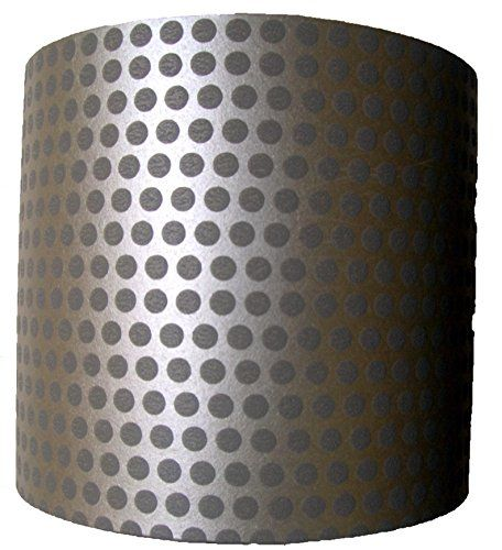 """8"""" Silver Grey Spotted Cylindrical Lampshade Limelighting http://www.amazon.co.uk/dp/B00F62DF2M/ref=cm_sw_r_pi_dp_XW0cxb17VQFV2"""