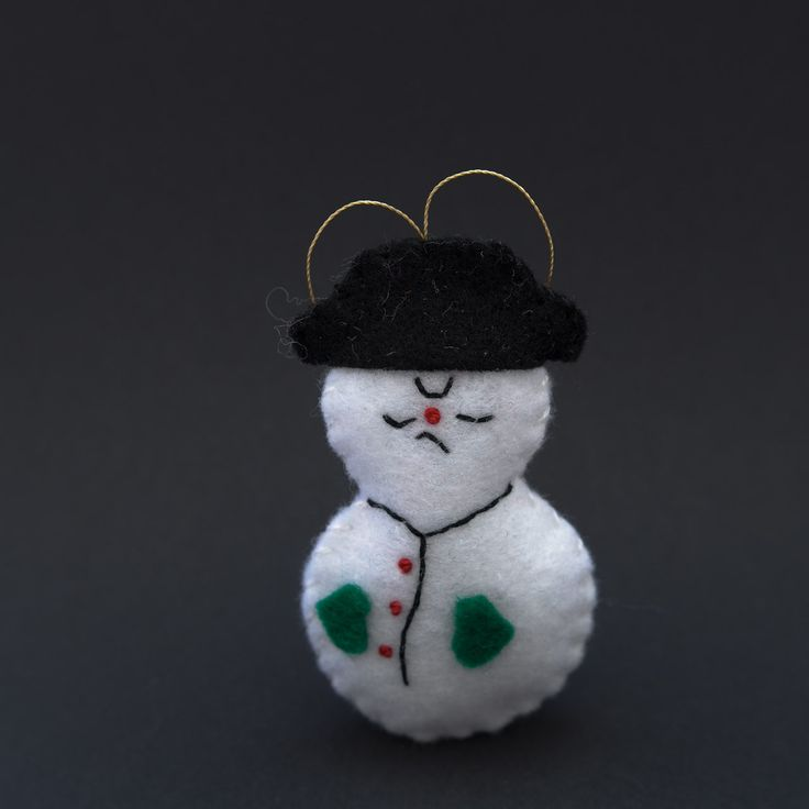 Angry snowman  - snowman, christmas decor, christmas gift, christmas decoration, cute, adorable. by HalloweenOrChristmas on Etsy
