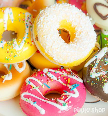 Yummy Donut Strap Phone Decoration from Pikku Shop | www.pikku-shop.com