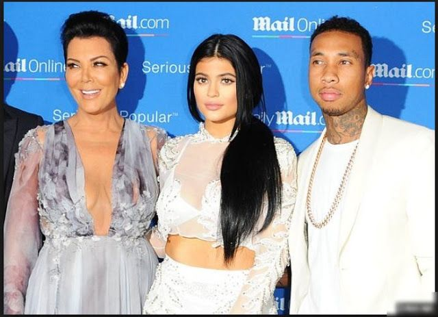 Tyga Stopped from Coming To The Kardashian's  Home  by Kris Jenner Report