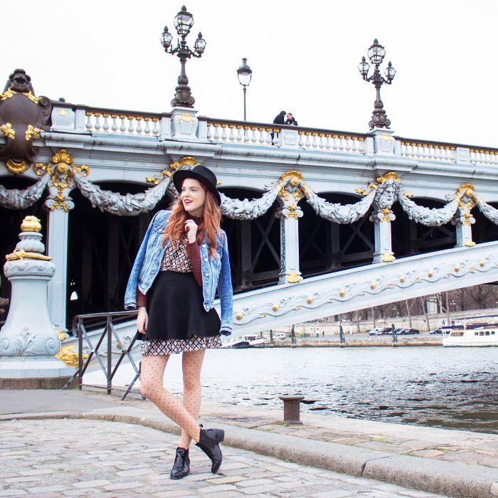 Paris, Pont Alexandre Alexander Bridge
