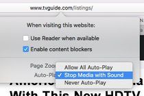 Stopping Autoplay Videos on Safari The most recent version of the Mac operating system includes controls for stopping web page videos that start blasting on their own. Technology Computers and the Internet Mac OS (Operating System) Video Recordings Downloads and Streaming Web Browsers