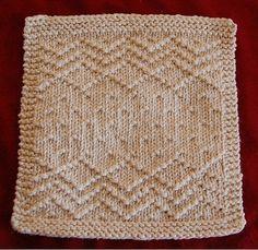 Ravelry: Crazy Seed Dishcloth pattern by Bridget McKenzie
