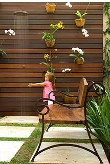 deck painel ipê piscina chuveirão by timberfloorbrasil, via Flickr