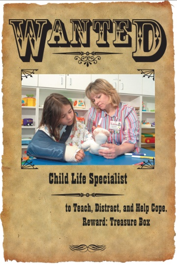 Wanted:Child Life Specialist in all hospitals