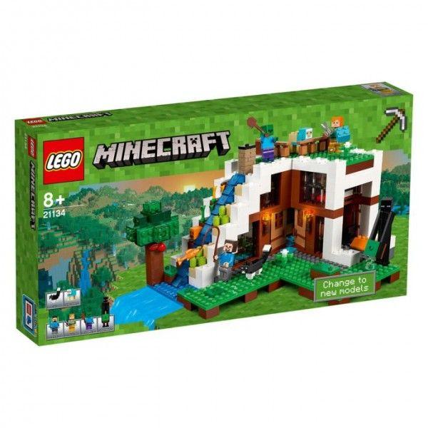 Base de la Cascada - Minecraft Lego - Lego - Sets de Construcción - Sets de Construcción JulioCepeda.com