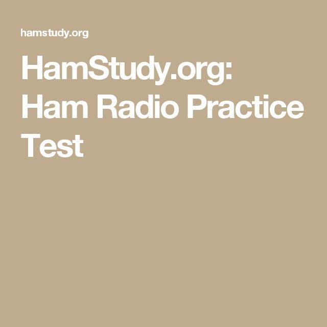 HamStudy.org: Ham Radio Practice Test