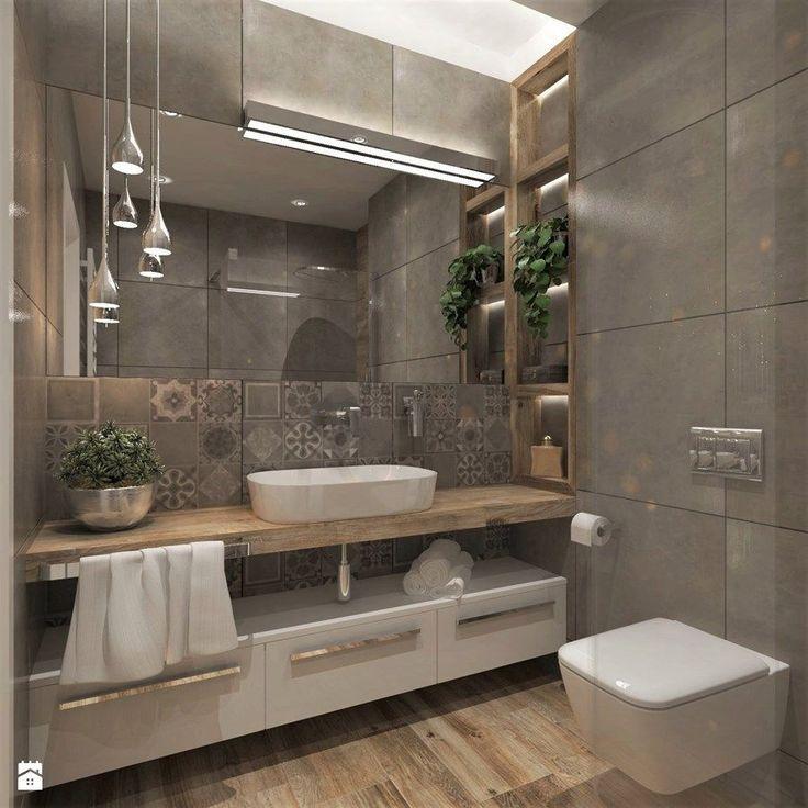 37 Awesome Small Master Bathroom Makeover-Ideen. Als Ergebnis der Essenz des Bades