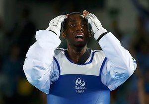 Lutalo Muhammad wins silver Taekwondo - Men's -80kg Gold Medal Finals 2016 Rio Olympics