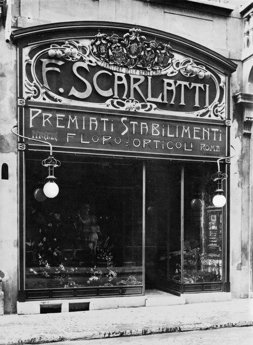 Rome shopfront 1904