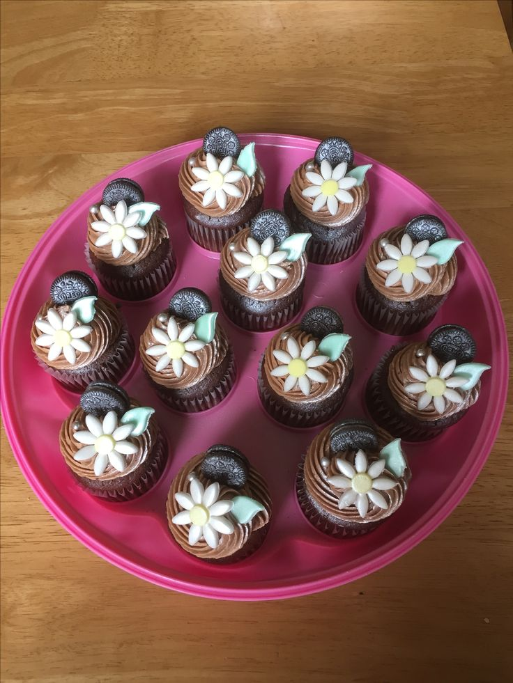 Flower 🌺 Cupcakes