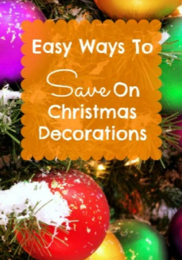Tips to save on all your holiday décor!