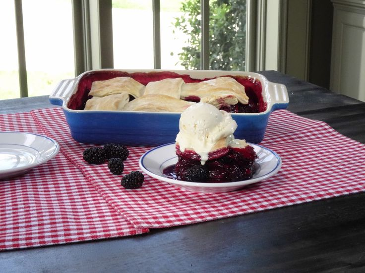 Blackberry Cobbler recipe from Trisha Yearwood