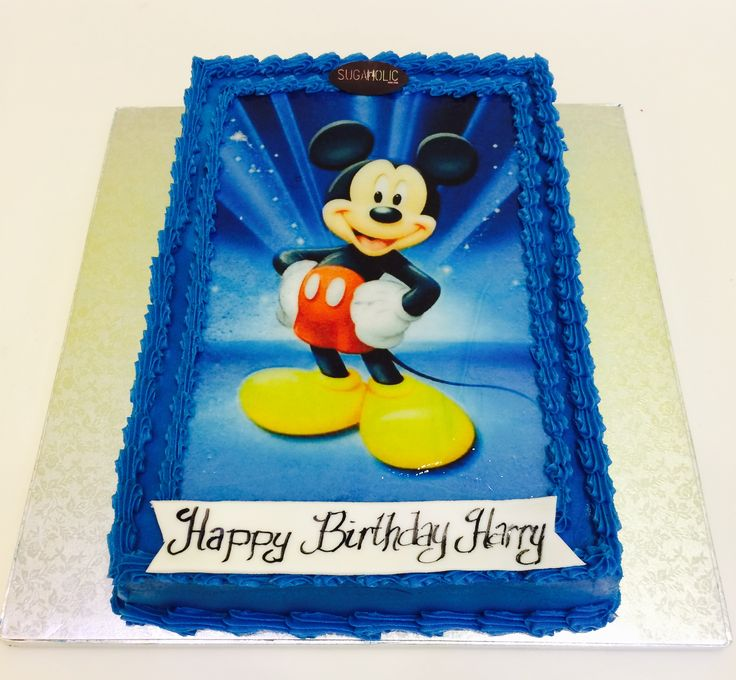 Cake printing