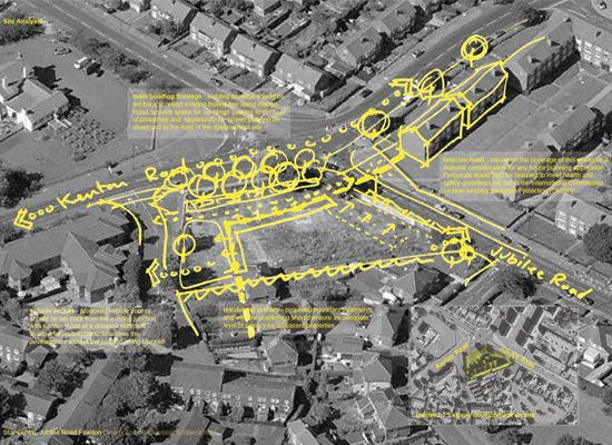 Star Centre Fawdon site analysis