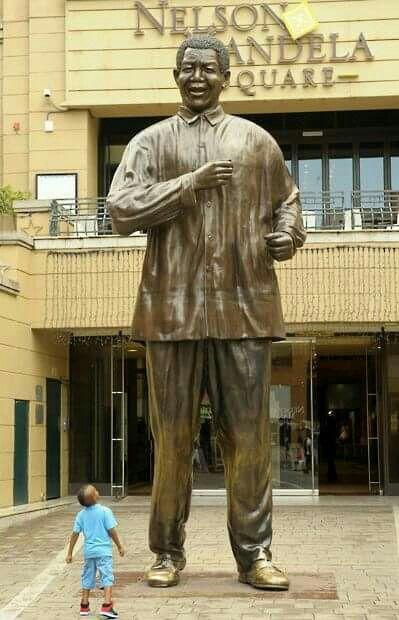 Nelson Mandela square, Johannesburg, South Africa.