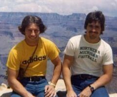 Steve Mariucci Posts Photo Of Tom Izzo At The Grand Canyon In 1977