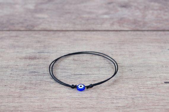 Black String Bracelet. Evil Eye Bracelet. Kabbalah Bracelet.  Make a Wish Good Luck. Women, Men, Baby, Child. Family Protection Bracelets  This bracelet is handmade with ev...