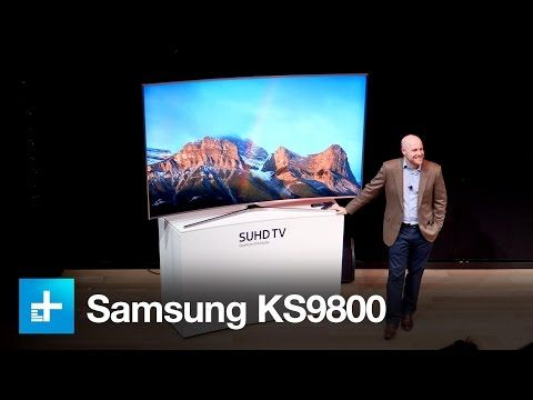 Samsung KS9800 4K SUHD TV - First Look - YouTube