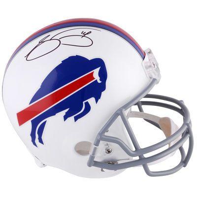 SAMMY WATKINS Buffalo Bills Autographed Full Size Riddell Replica Helmet…