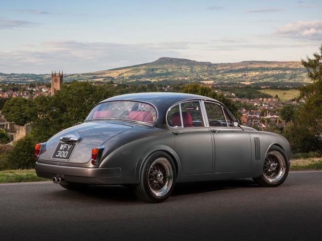 Modernised classics: Jaguar Mark 2 by Callum