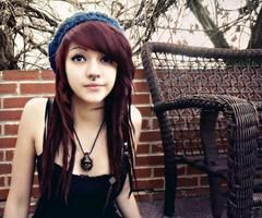 indie scene hair brown - Google Search