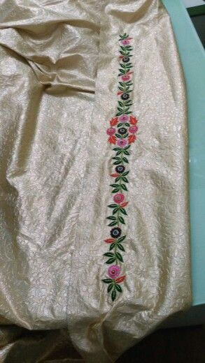Belt of the multiple colors thread caftan