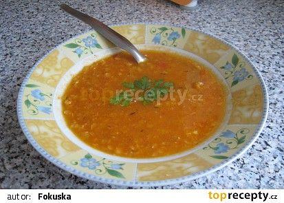 Polévka s rajčaty a červenou čočkou II. recept - TopRecepty.cz