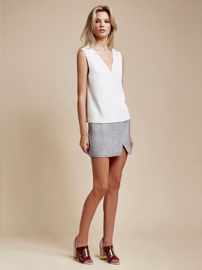 Finders Keepers - The Runner Top - White - $99.90