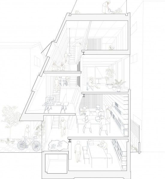 52 mejores imágenes de Graphic Anatomy Atelier Bow-Wow en Pinterest ...