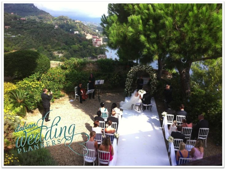 Portofino - Celebrate your intimate wedding on the sea Email our Portofino wedding planners for info: info@italianweddingplanners.com