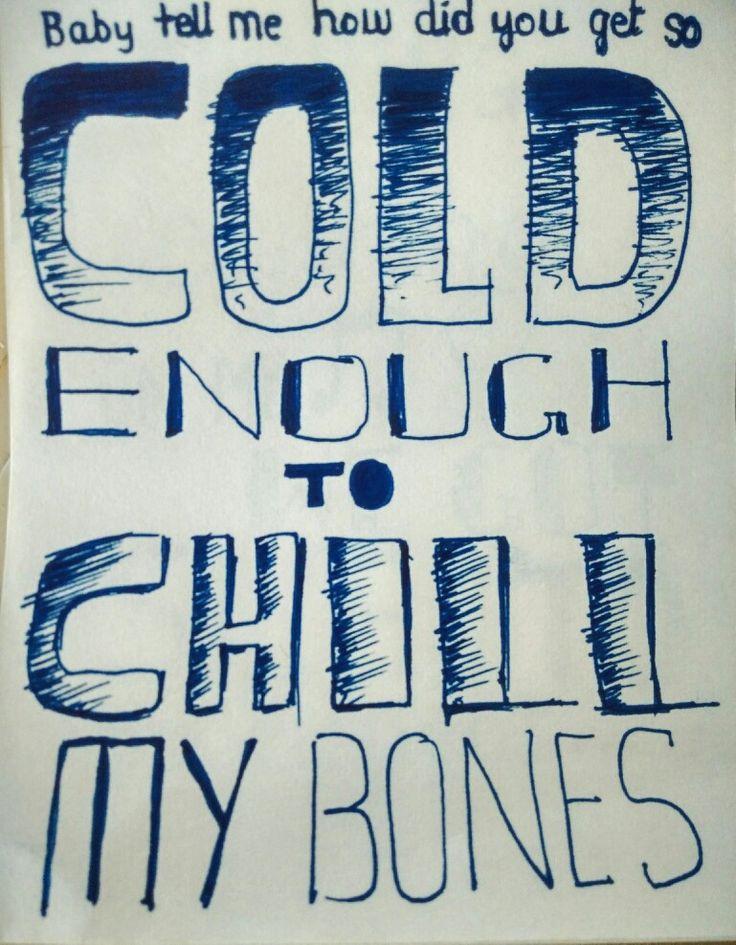 #COLD Maroon 5 ft future Fan art