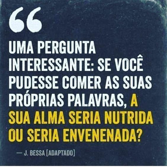 """bynina: """" Daqui: @coisasquenaosaominhas Por mais almas bem alimentadas! O velho clichê """"você é o que você come"""", cabe perfeitamente aqui! #frases #palavras #autoconhecimento #alma #energiaboa """":"""
