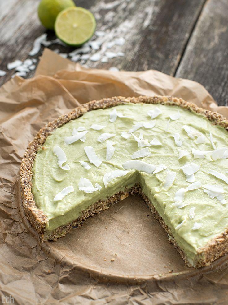 true taste hunters - kuchnia wegańska: Tarta kokosowo-limonkowa z awokado…