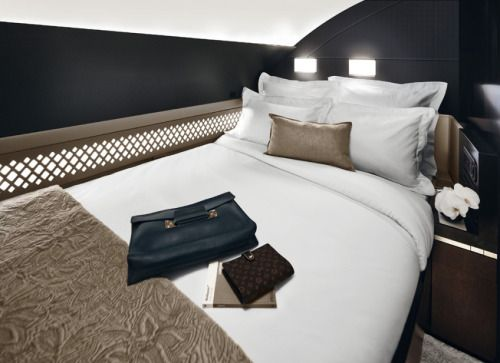 Etihad 1st Class Suite on A380 Airbus