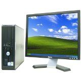"""Dell OptiPlex 745 Desktop Complete Computer Package with Windows 7 Home 32-Bit - PD 2.6Ghz, 2GB, 80GB, Keyboard, Mouse, & Dell 19"""" LCD Monitor @ krelectronicsonline.com"""