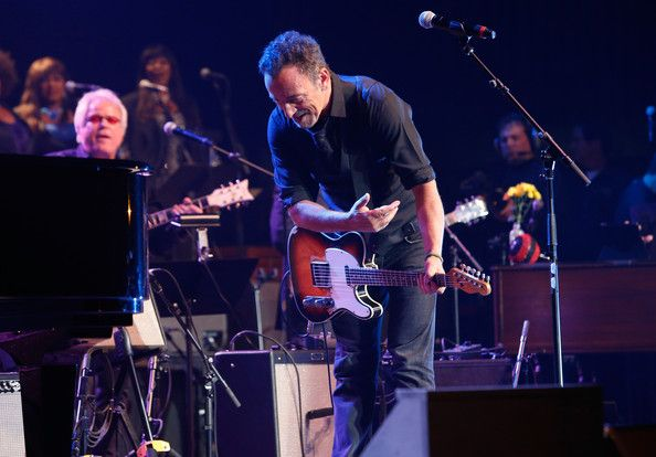 Bruce Springsteen Photos - Bruce Springsteen performs during The Musical Mojo of Dr. John: A Celebration of Mac & His Music at the Saenger Theatre on May 3, 2014 in New Orleans, Louisiana. - The Musical Mojo of Dr. John: A Celebration Of Mac & His Music - Show