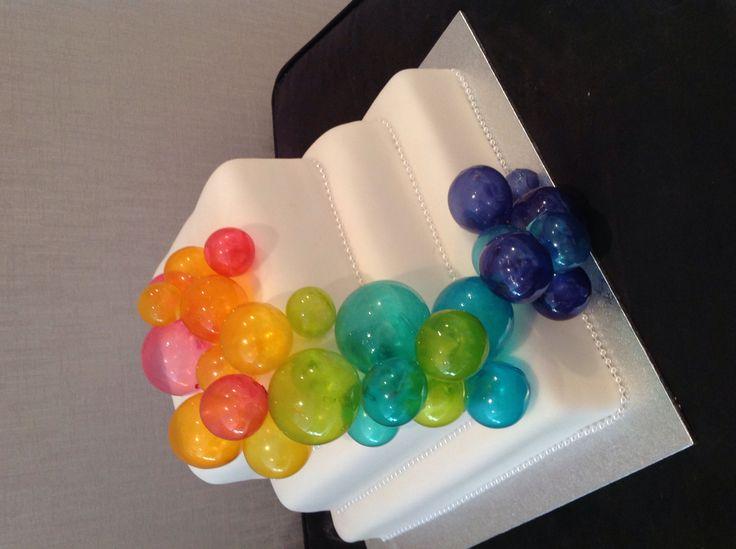 Bubble Cake with pretty gelatine balls .                                                                                                                                                      More