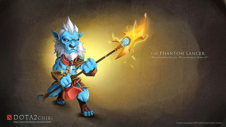dota 2 chibi wallpaper phantom lancer